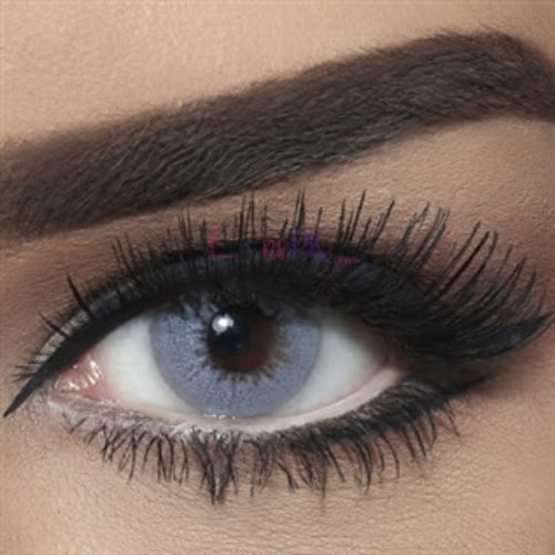 Buy Bella Gray Shadow Contact Lenses - Diamond Collection - lenspk.com