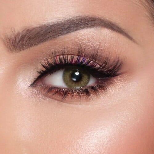 Buy Bella Silky Gold Contact Lenses - Elite Collection - lenspk.com