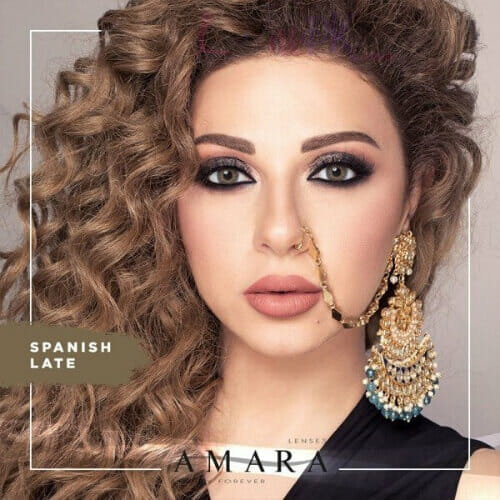 Buy Amara Spanish Late Eye Contact Lenses in Pakistan @ Lenspk.com