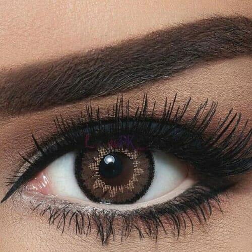 Bella Highlight Circle Brown Contact Lenses