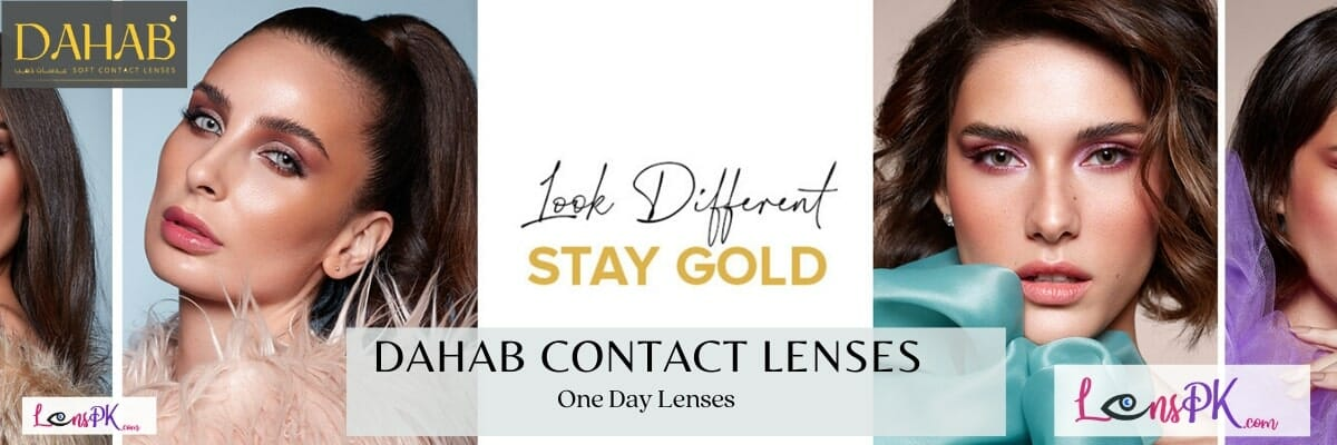 Buy Dahab Contact Lenses One Day Collection in Pakistan