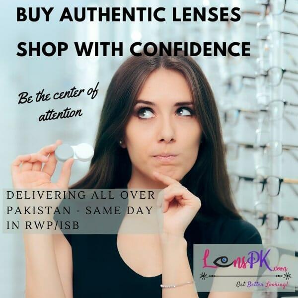 Contact Lenses in Pakistan - Lenspk.com