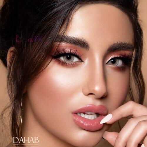 Buy Dahab Caramel Eye Contact Lenses - Gold Collection - lenspk.com
