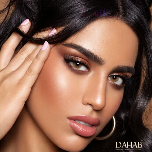 Buy Dahab Creamy Contact Lenses - One Day Collection - lenspk.com