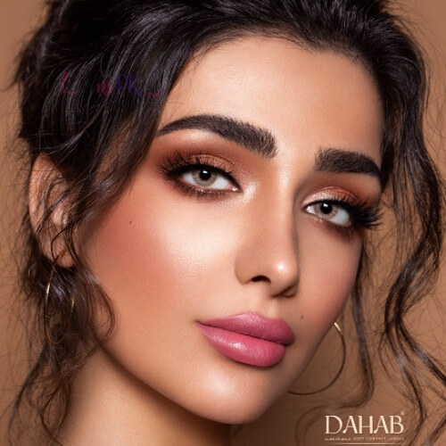 Buy Dahab Lumirere Brown Contact Lenses - One Day Collection - lenspk.com